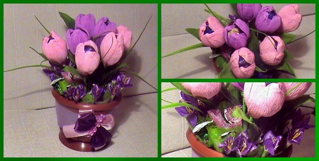 Маленькие тюльпаны своими руками